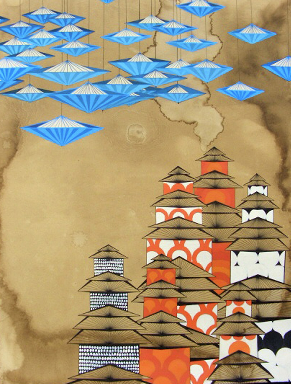 Umbrella Houses