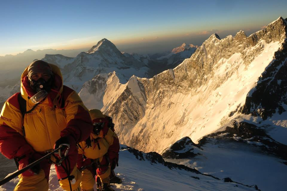 Adrian Ballinger, Mount Everest Summit, 2013