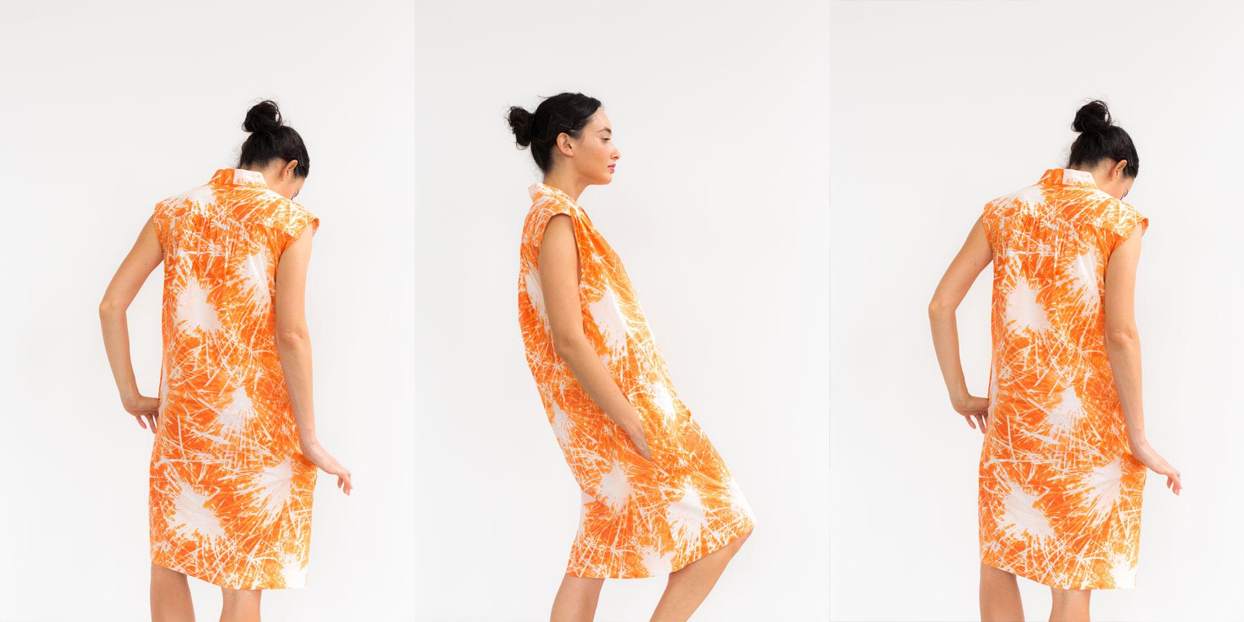 July Hot Paperbag Dress