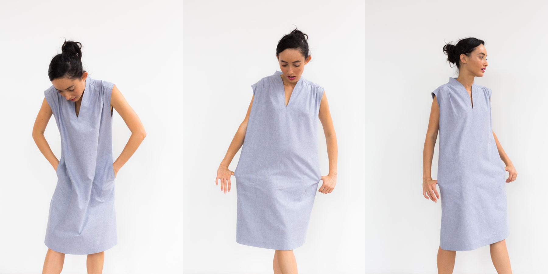 Oxford Paperbag Dress