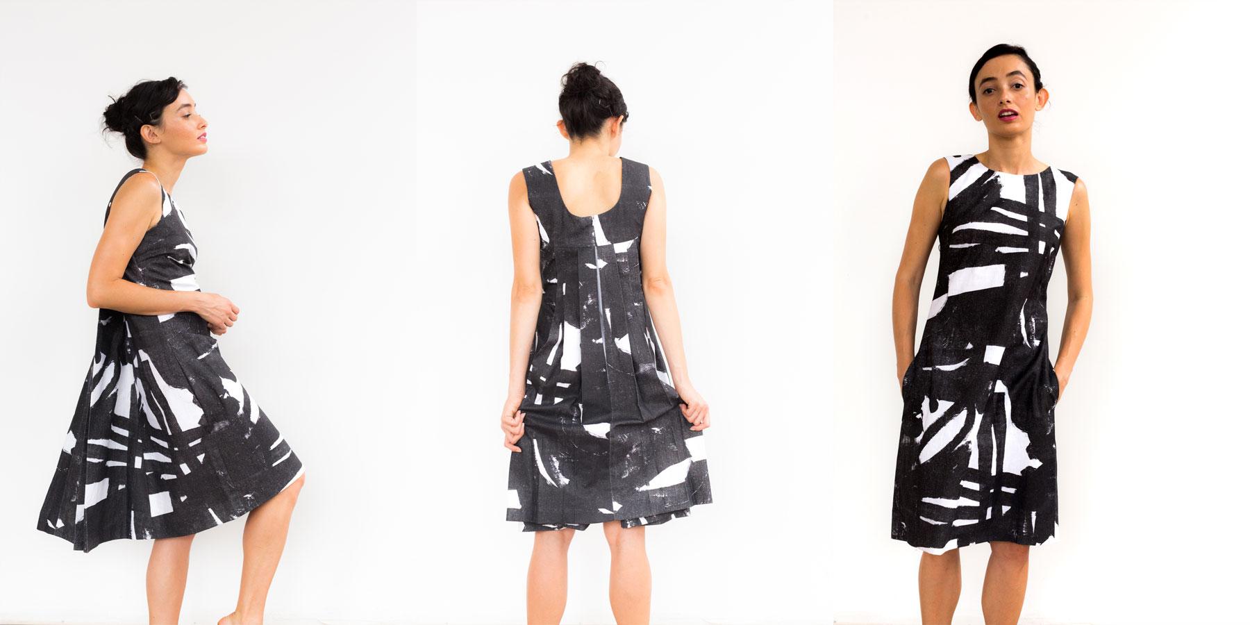 Westbeth Watteau Dress