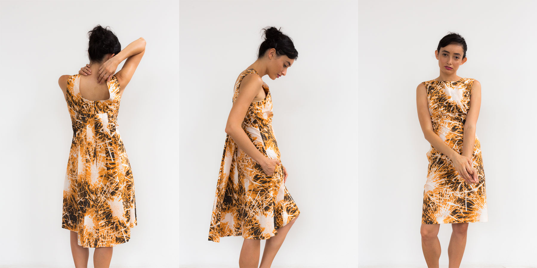 July Watteau Dress