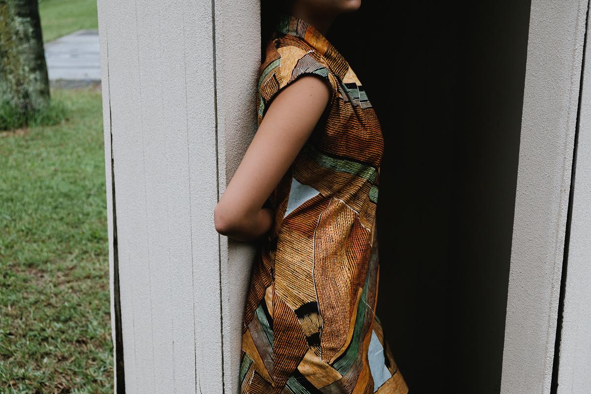 tiger tiger paperbag dress