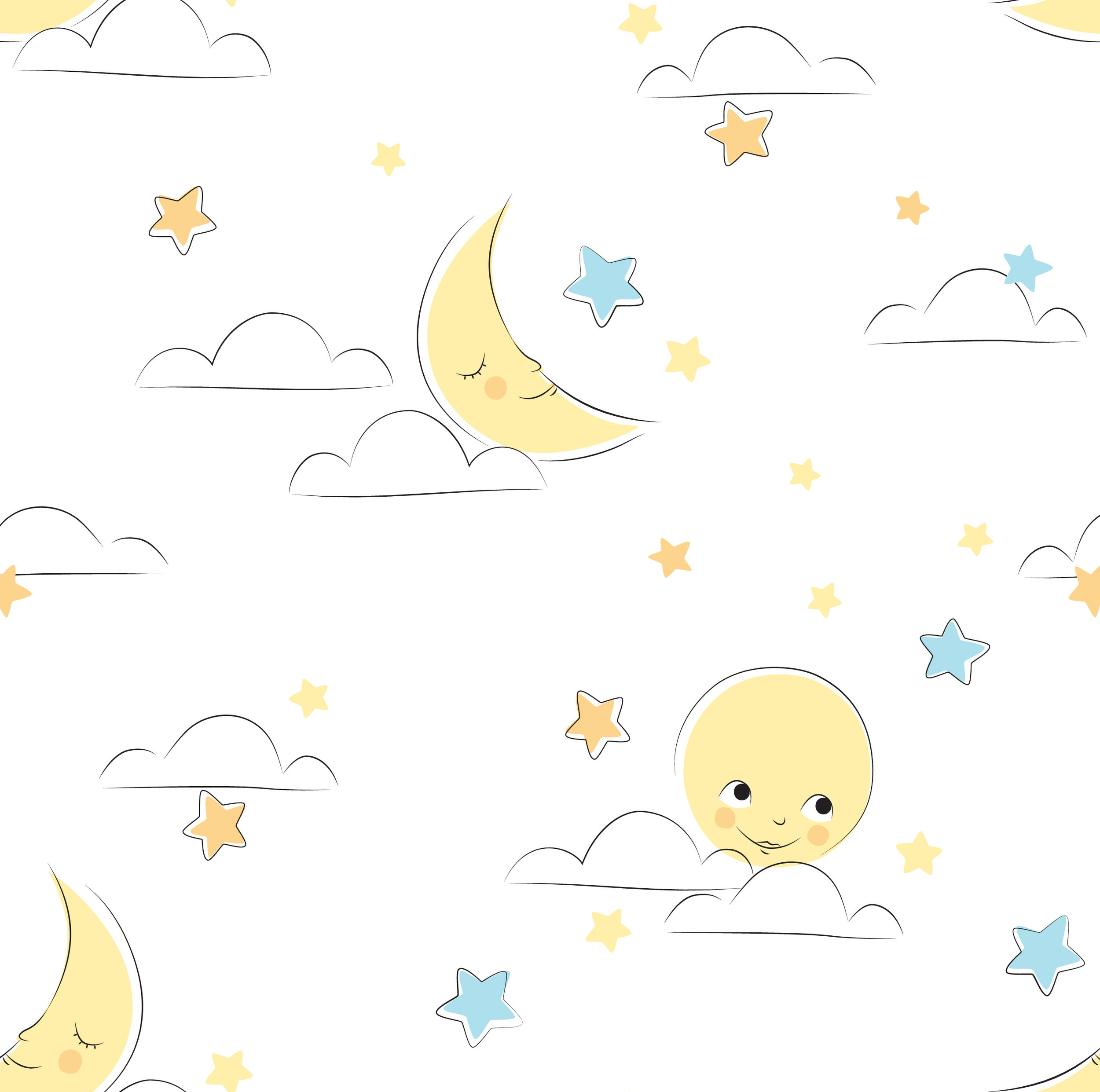 a baby-friendly print designed for Aden and Anais' line of muslin blankets