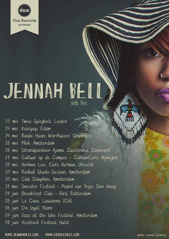 Dox Records tour poster