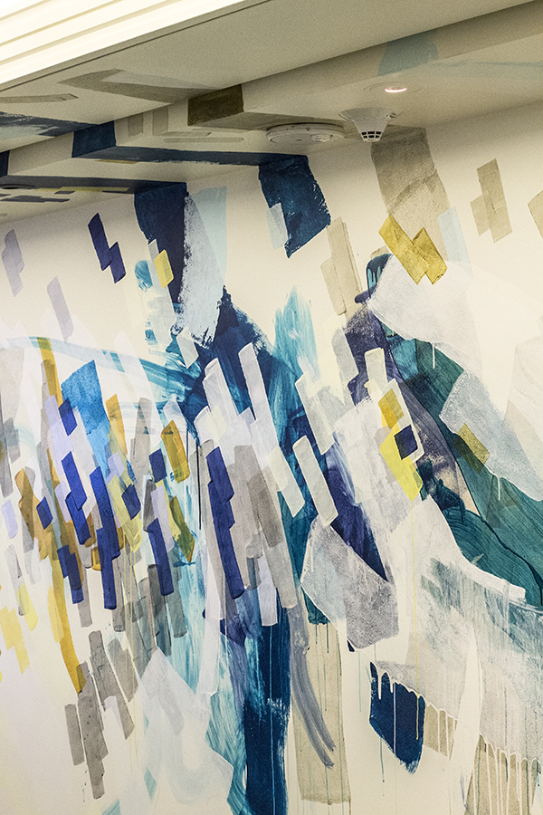 Painting the Mural : Dropbox Seattle | Heather Day