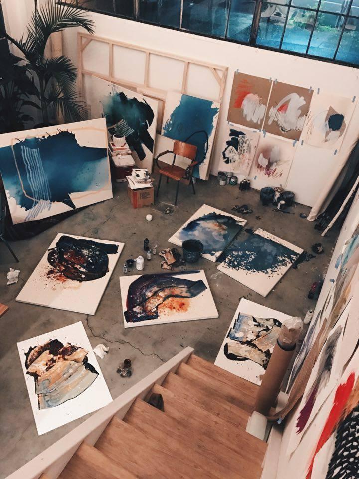 Heather Day's Studio in San Francisco