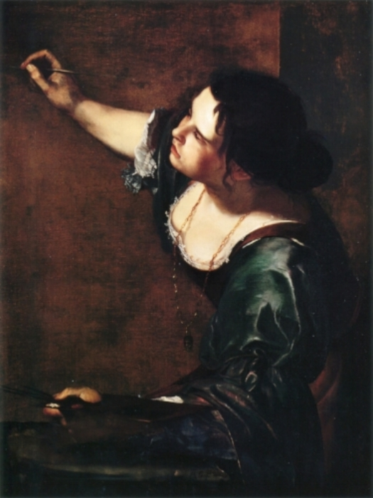 """Self Portrait as the Allegory of Painting""c. 1630. The Royal Collection, London."