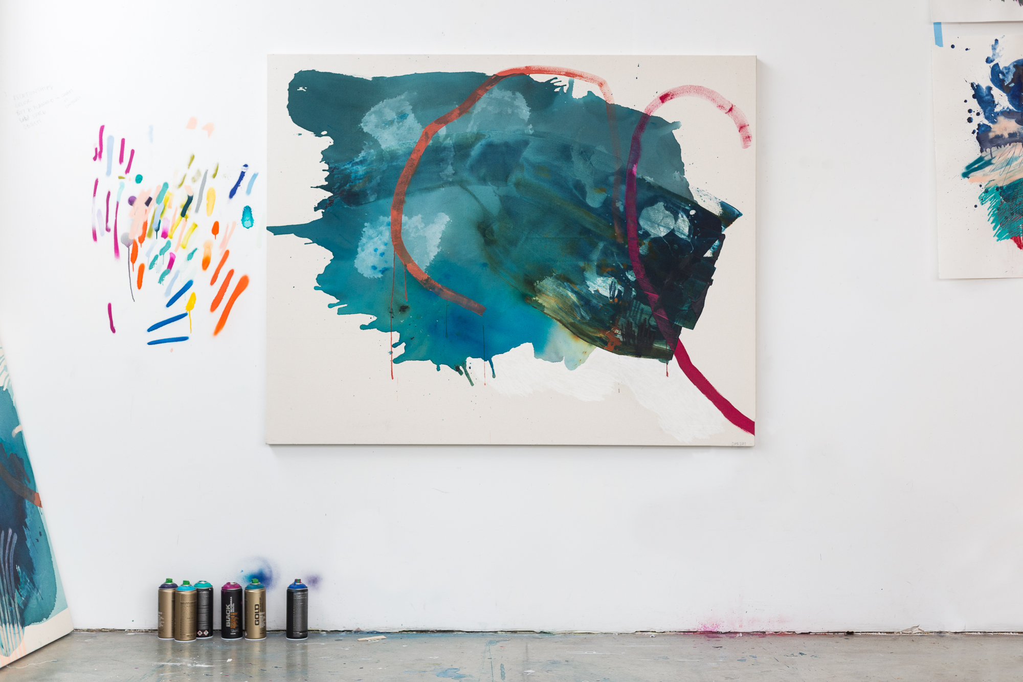 Starting from Blank : New Paintings | Heather Day Journal