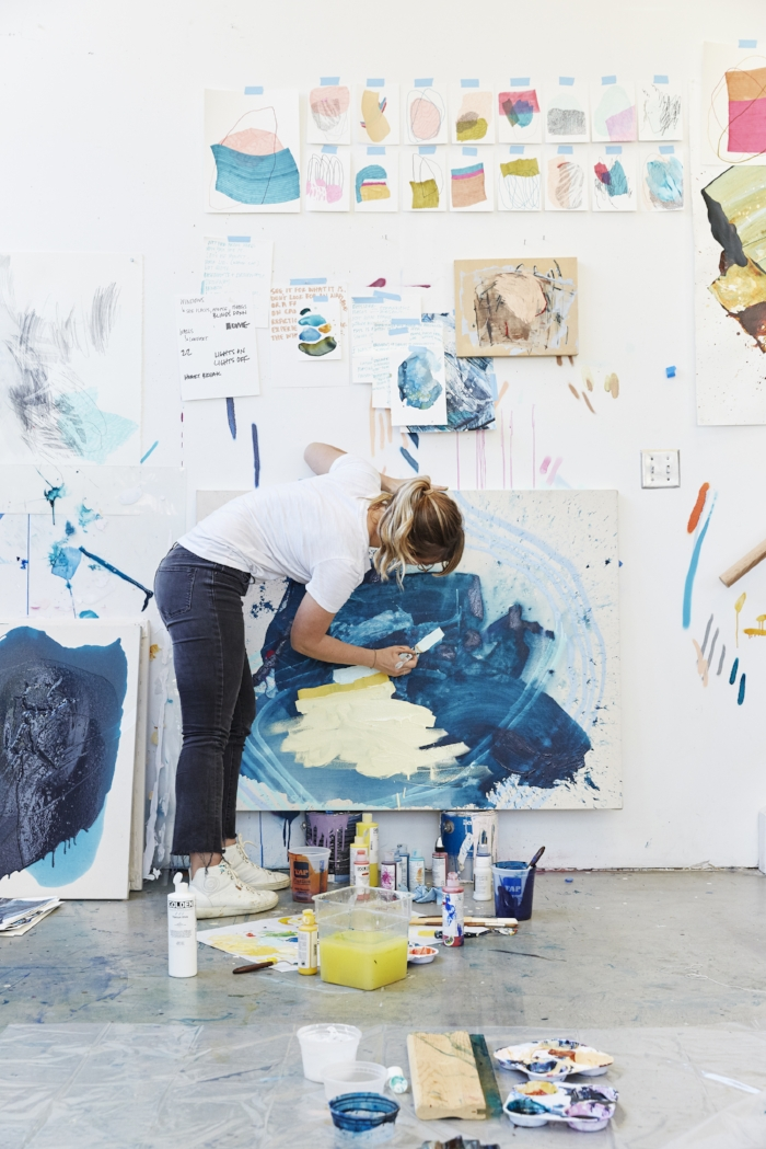 On The Road : Painting As I Travel | Heather Day