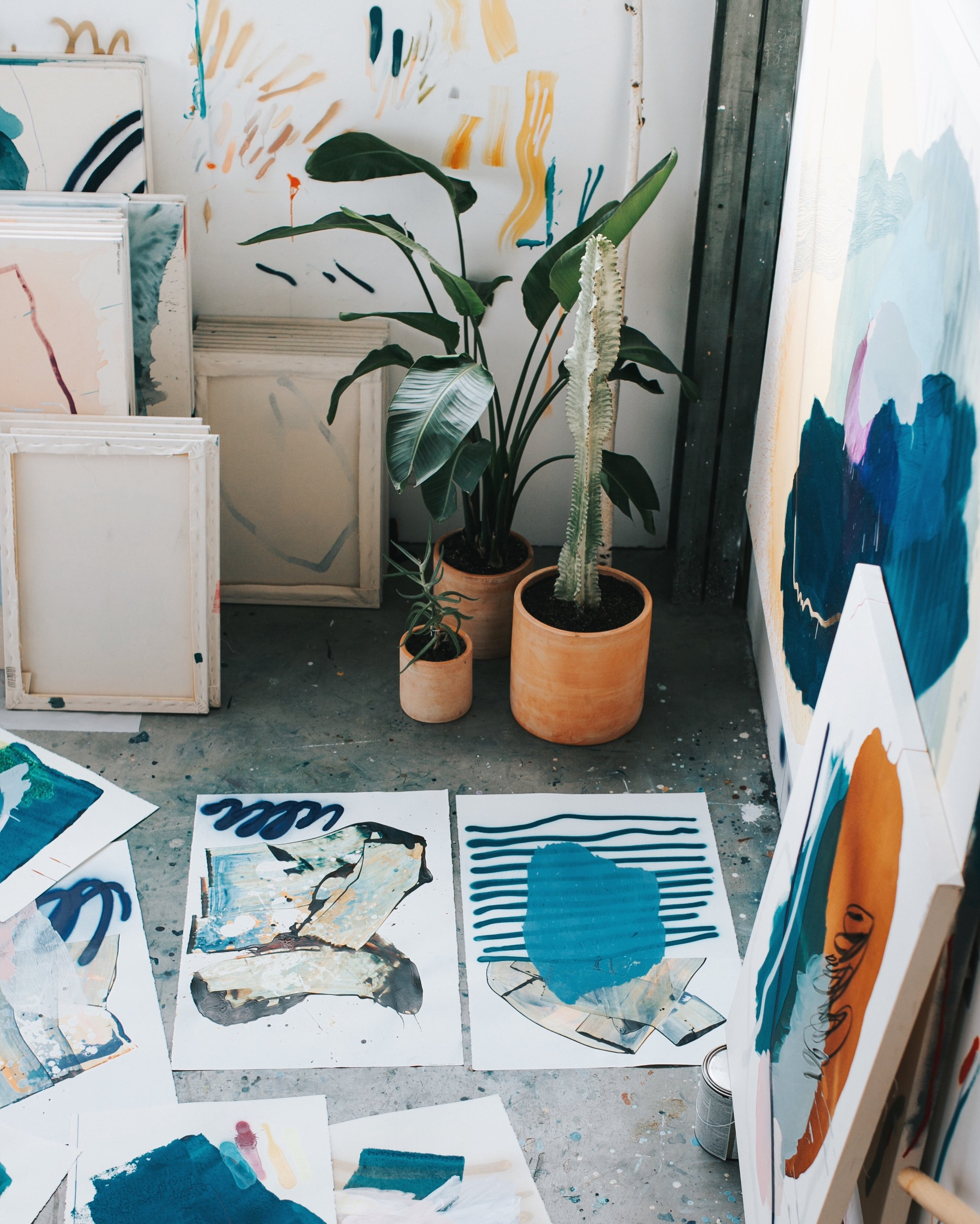 Heather Day's San Francisco Studio