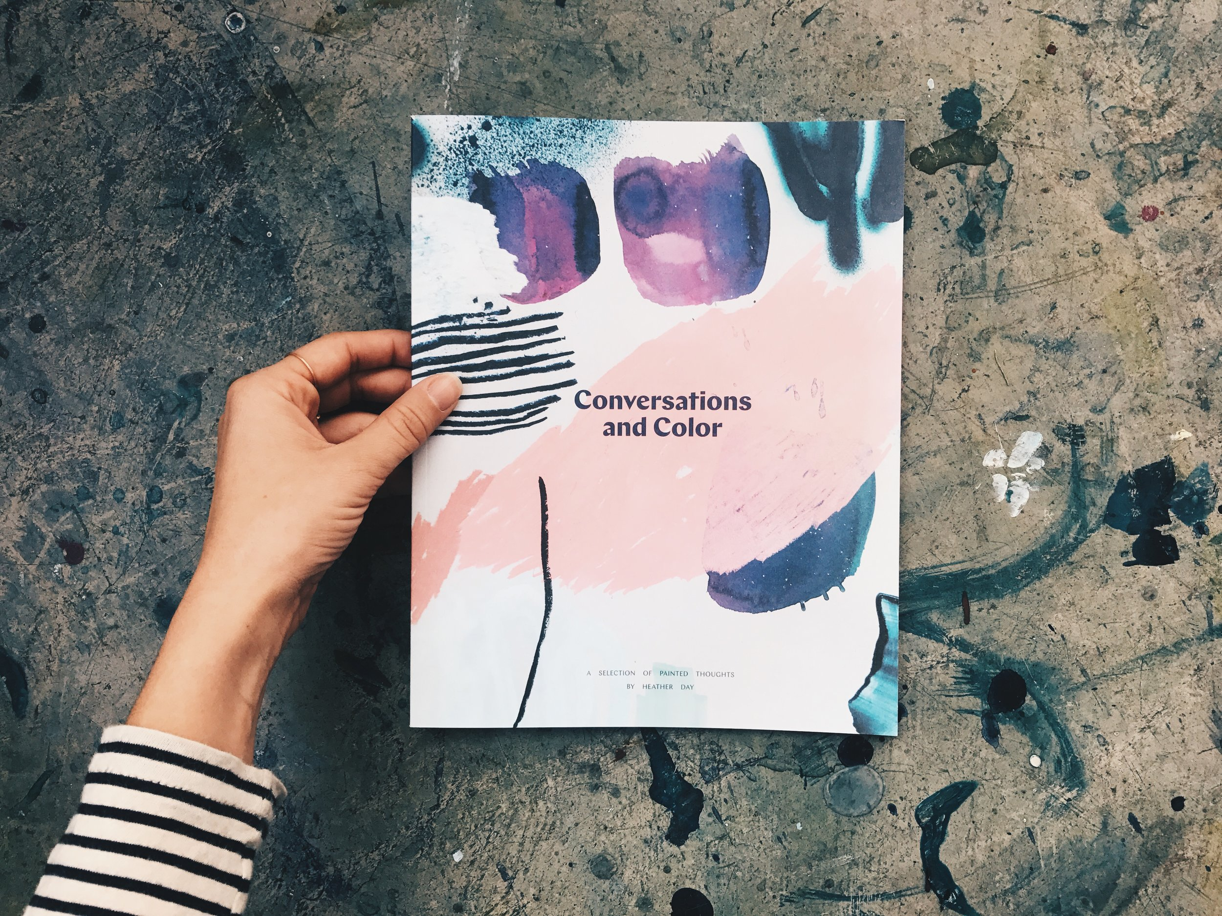 Conversations and Color Catalog by Heather Day