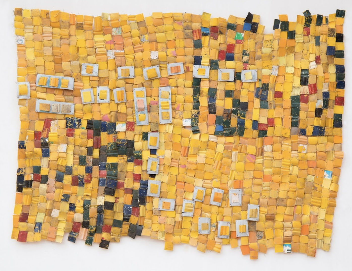 Serge Attukwei Clottey Every Day Myth: Survival and Sustenance - Image via the artist and Minnesota Street Projects