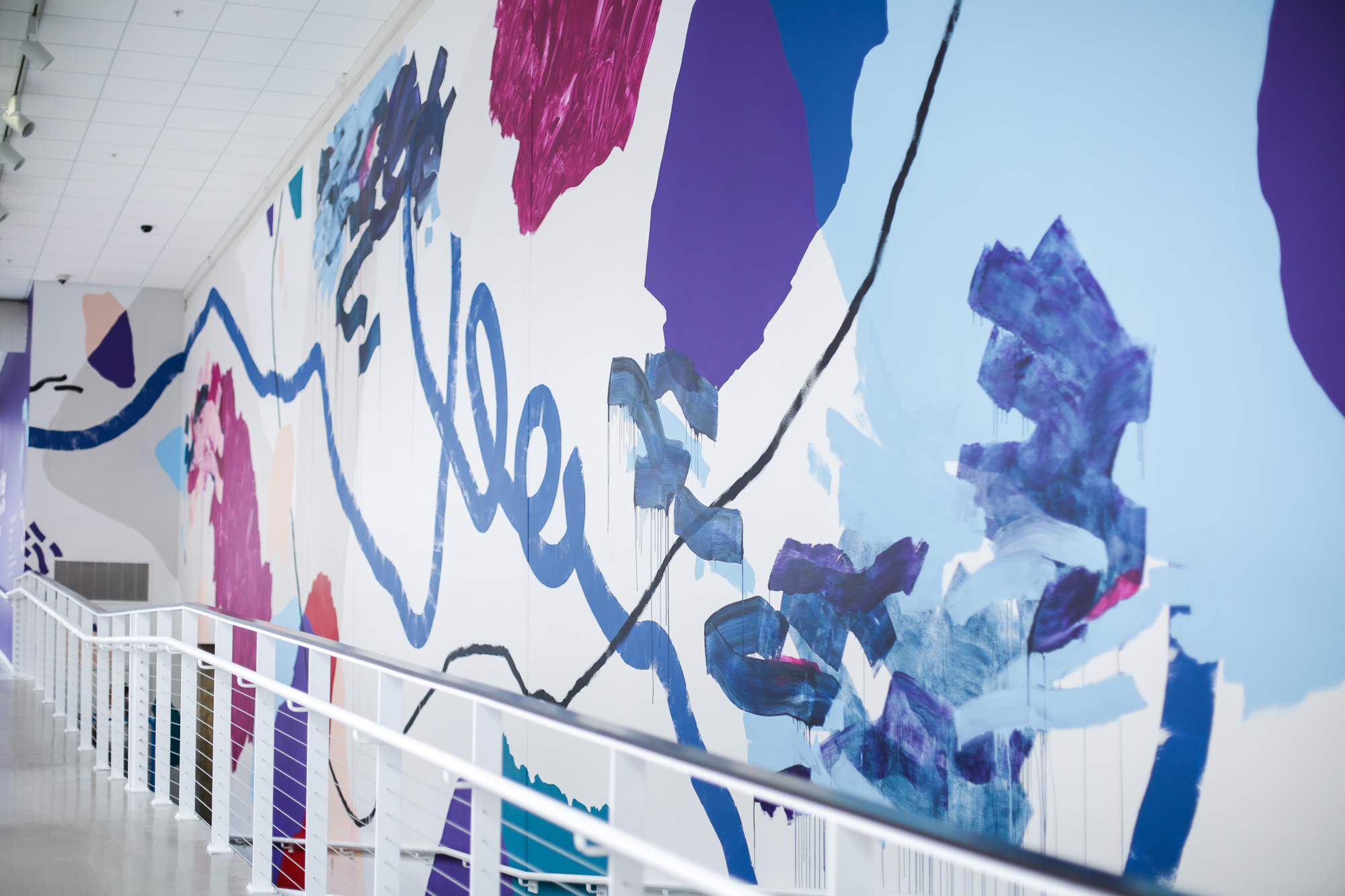UICA Pantone Mural by Heather Day