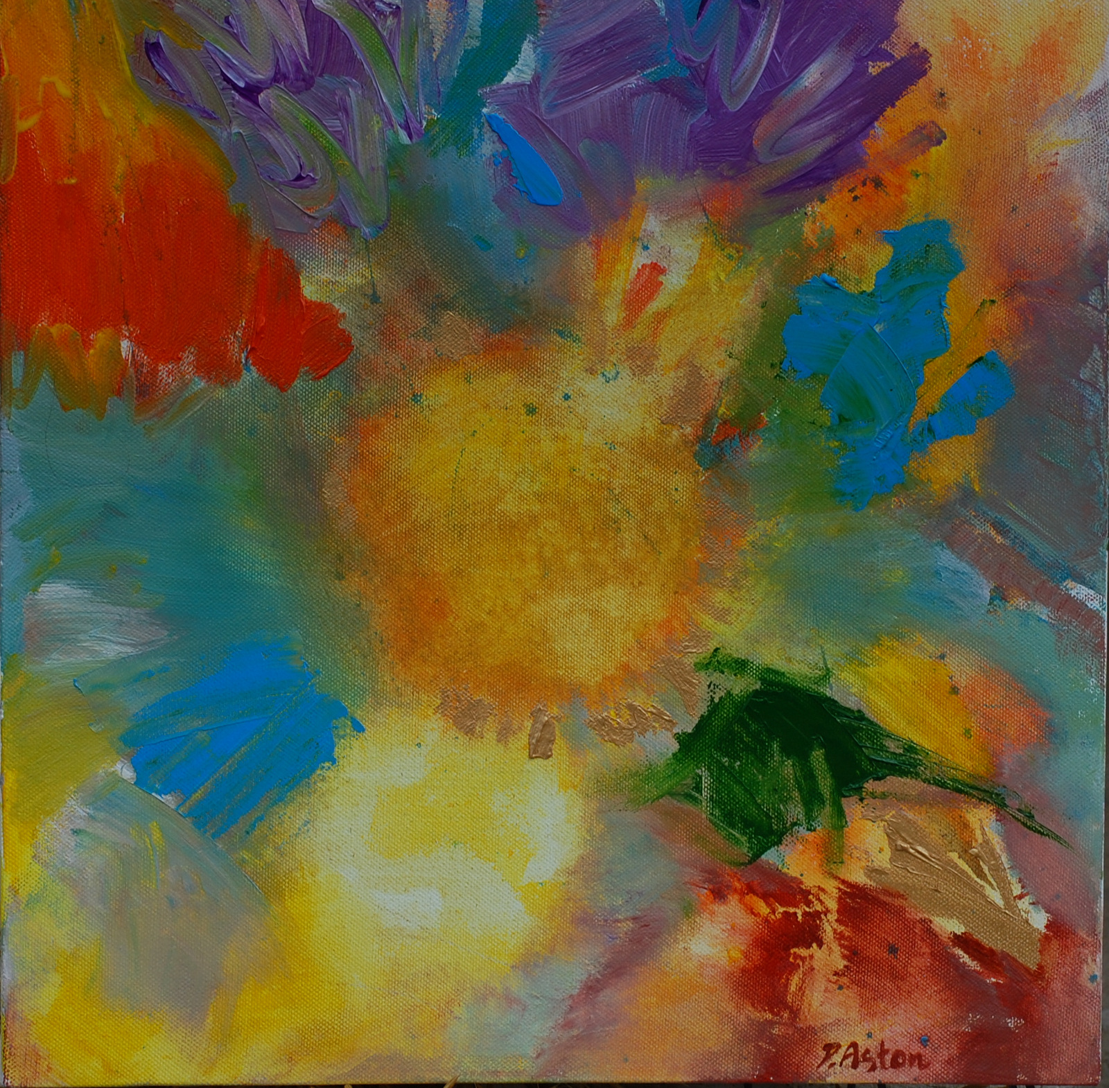 Summer by Dawn Aston acrylics.JPG
