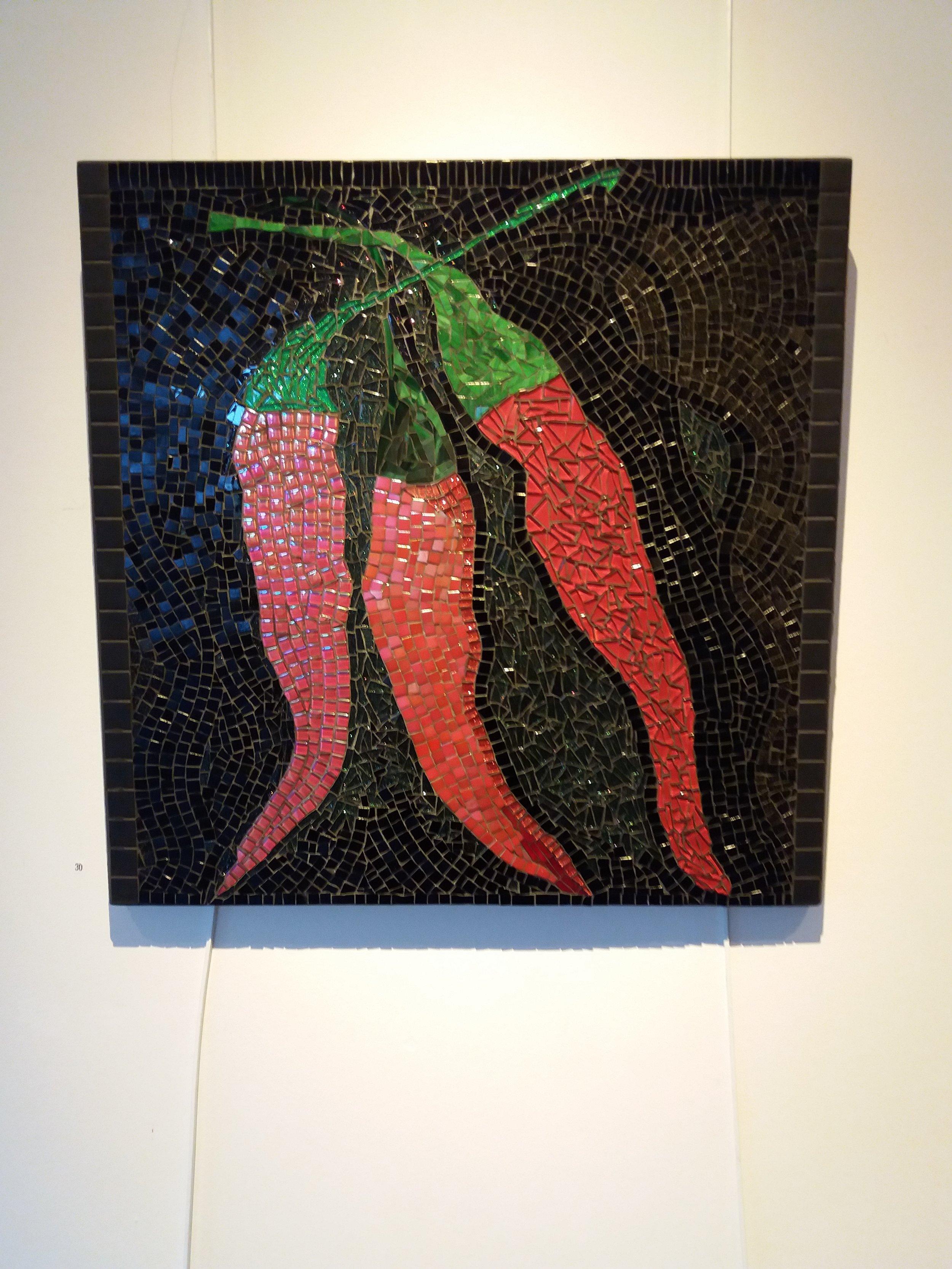 Red Hot Chillis mosaic
