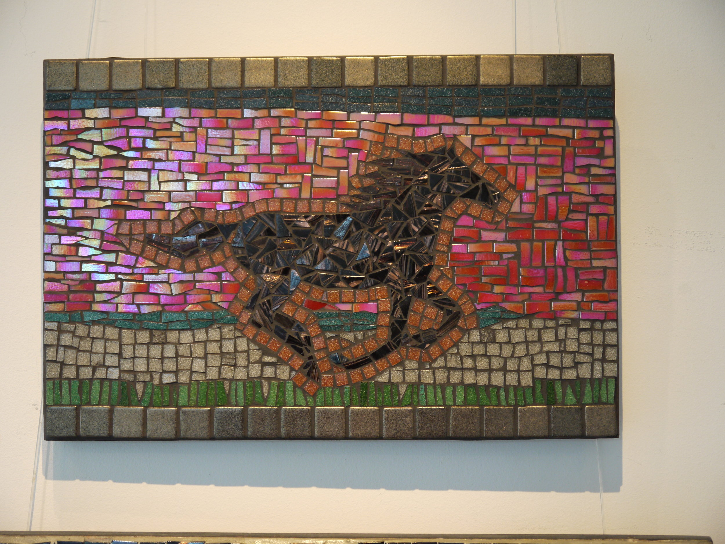 'The Wind is a Horse' mosaic
