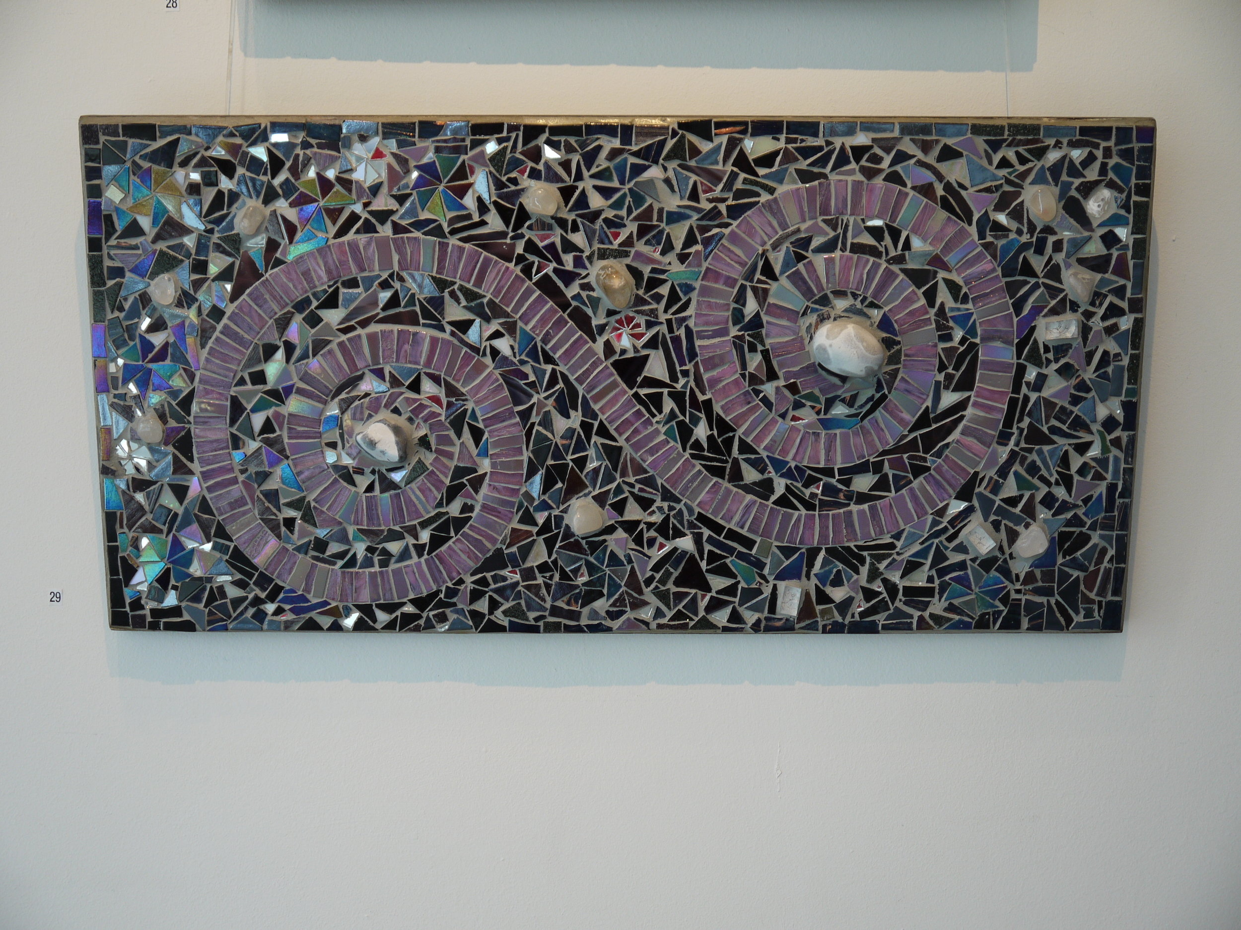 'Clothoid spiral' mosaic