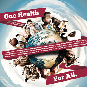 One Health  Uniting animal health scientists and their kackle global disease.