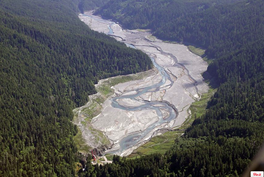As dams fall, rapid changes on Elwha River    WASHINGTON TIMES / July 5, 2014   The final chunks of concrete are expected to fall this September in the nation's largest dam-removal project,but nature is already reclaiming the Elwha River on Washington's Olympic Peninsula.  So much sediment, once trapped in reservoirs behind two hydroelectric dams, has flowed downstream that it has dramatically reshaped the river's mouth, replenished eroding beaches and created new habitat formarinecreatures not observed there in years.    Read more at:    http://www.washingtontimes.com/news/2014/jul/5/as-dams-fall-rapid-changes-on-elwha-river/?page=all