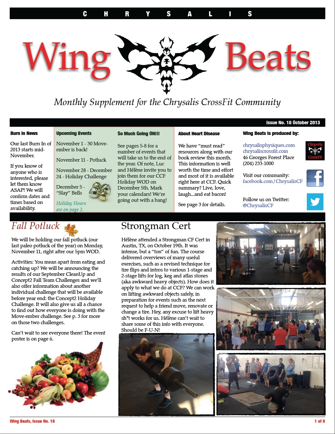 WingBeats Issue #18 - October 2013