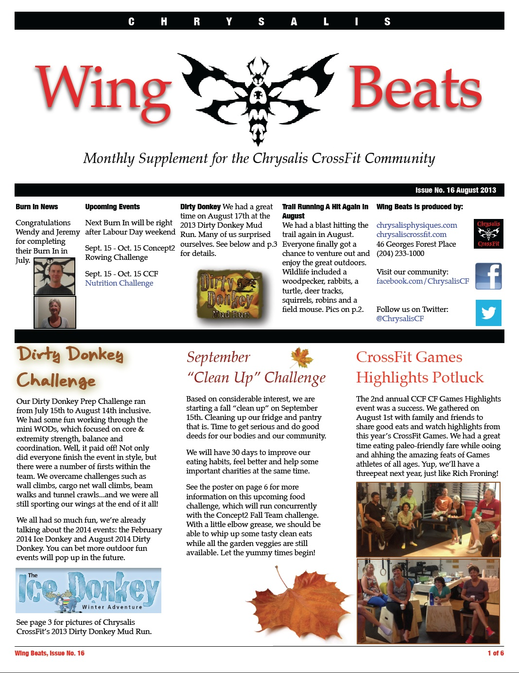 WingBeats Issue #16 - August 2013