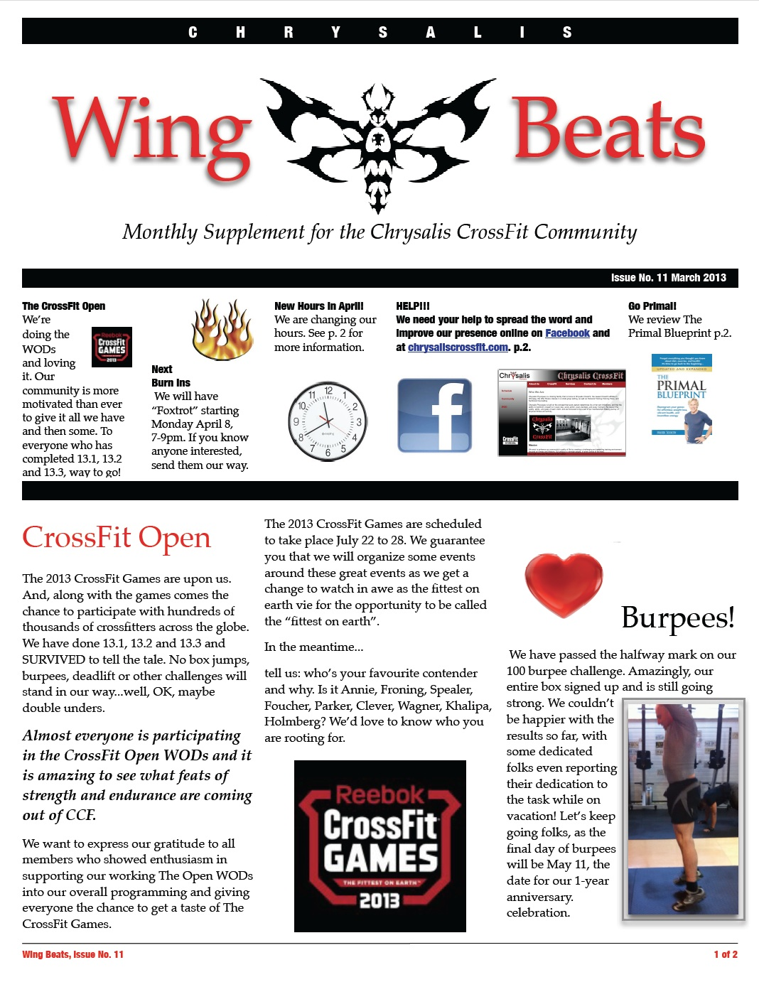 WingBeats Issue #11 - March 2012