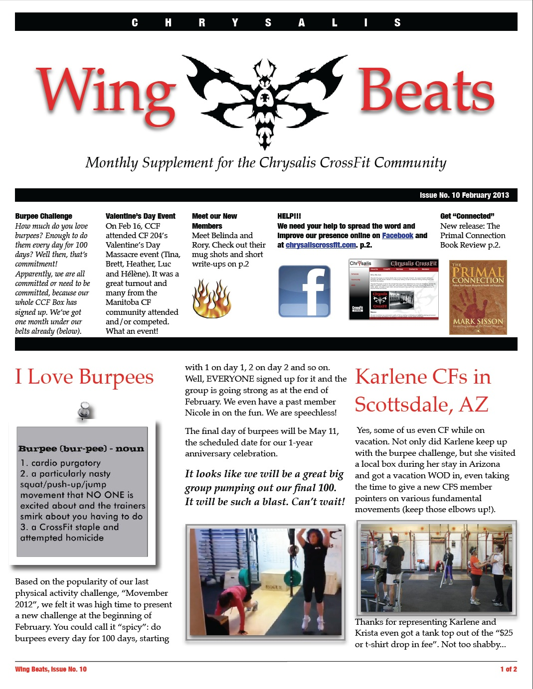 WingBeats Issue #10 - February 2013