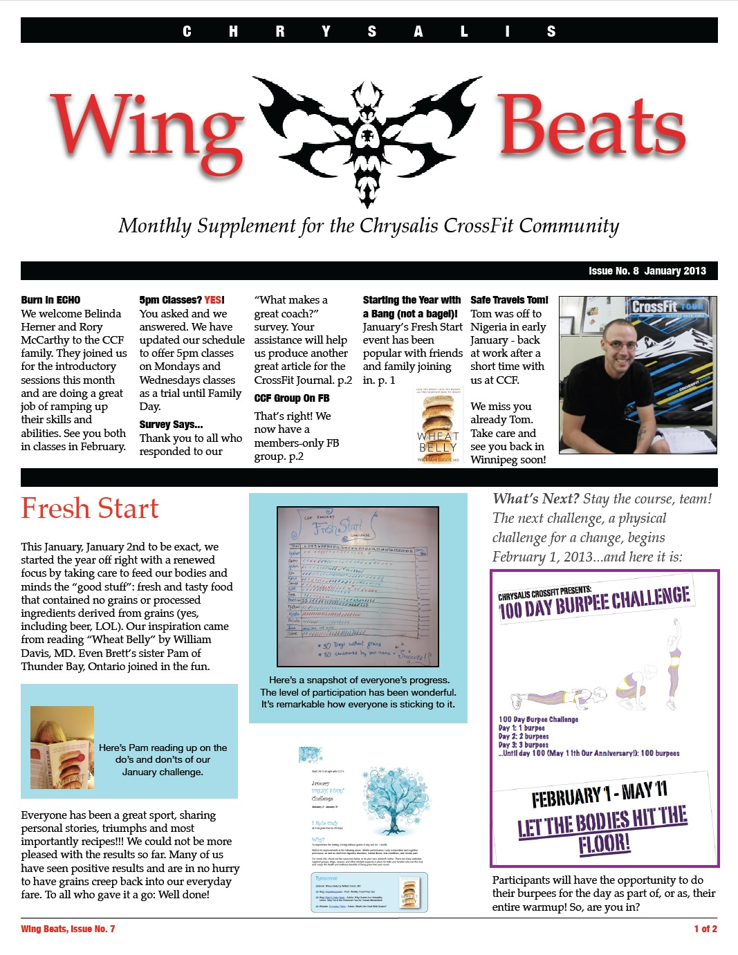 WingBeats Issue #9 - January 2013