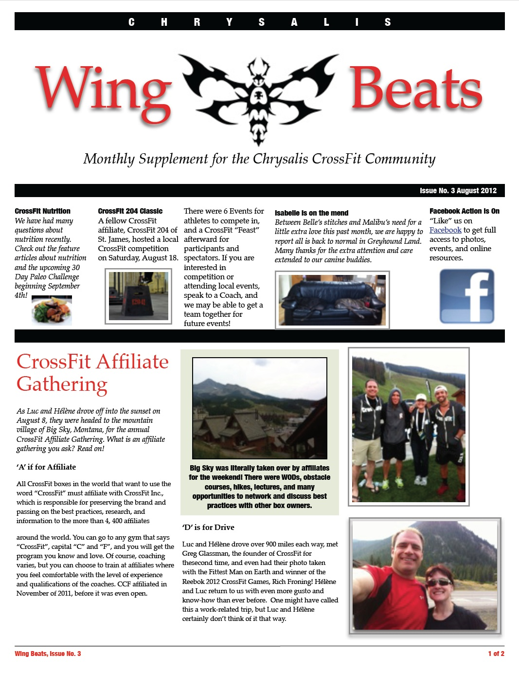 WingBeats Issue #4 - Aug 2012