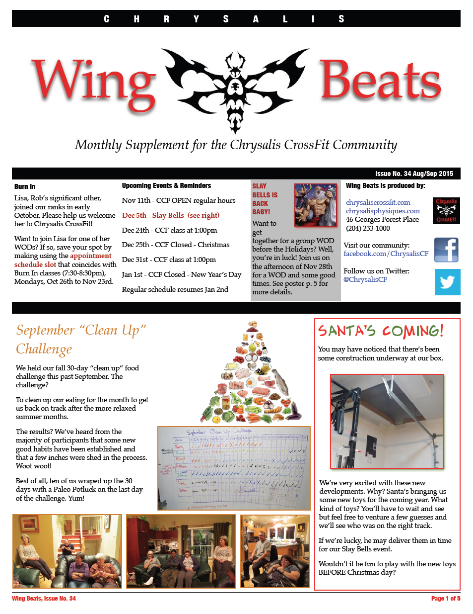WingBeats Issue #34 - AugSep 2015