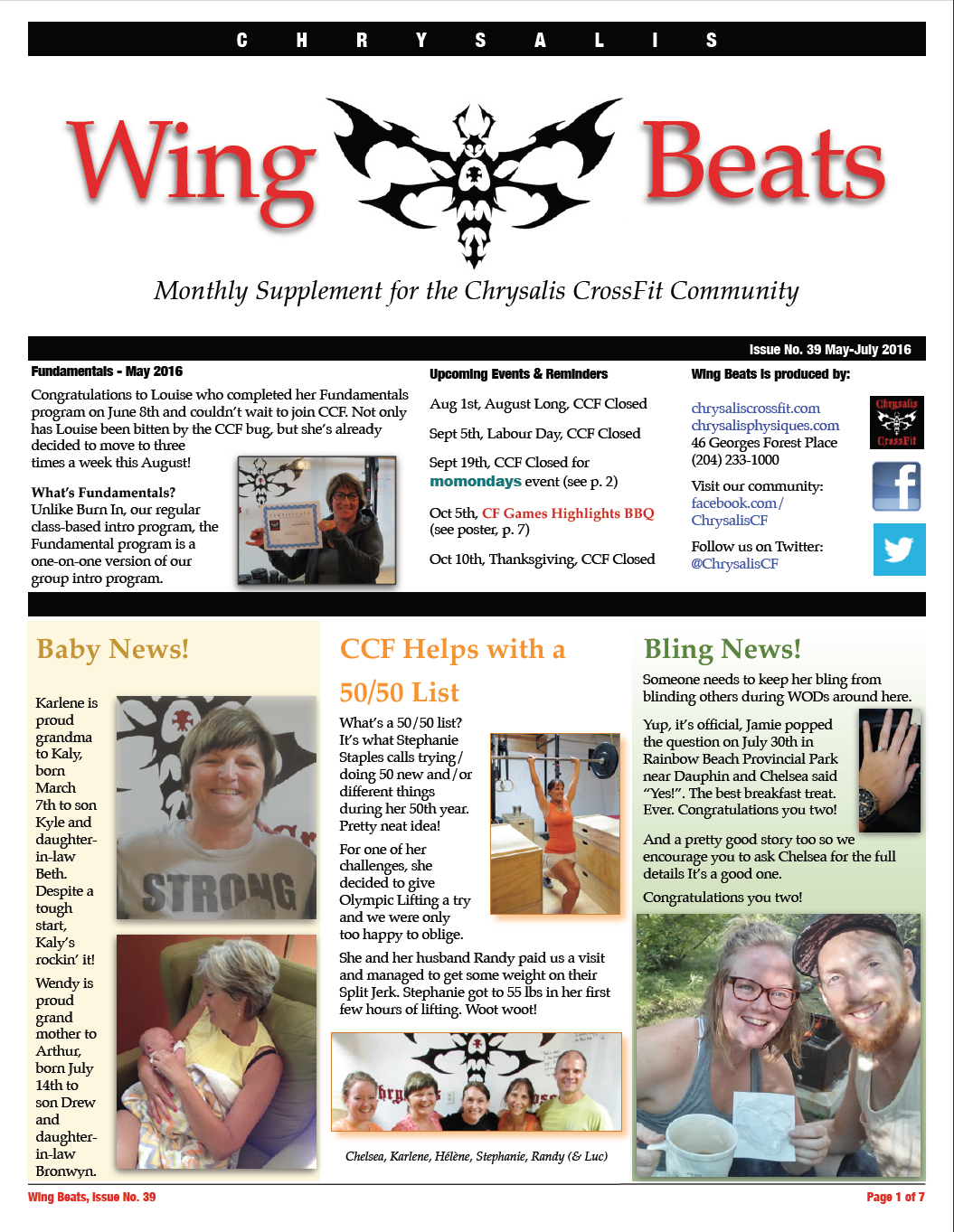 WingBeats Issue #39 - MayJul 2016