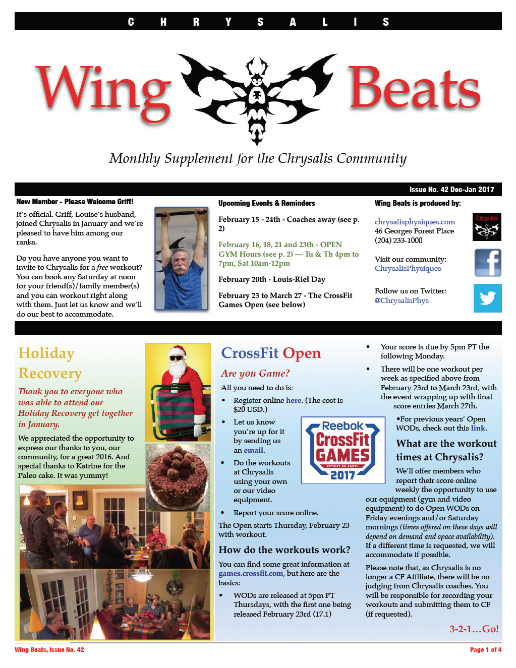 WingBeats Issue #42 - DecJan 2017