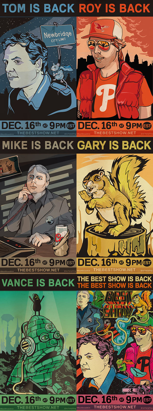 Best Show Is Back - 12/16/14 9PM