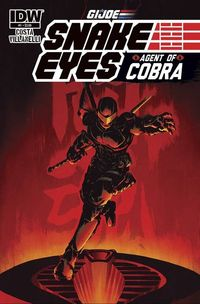 Snake-Eyes: Agent of Cobra #1