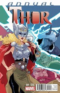 Thor Annual #1 (with contribution from  CM Punk )