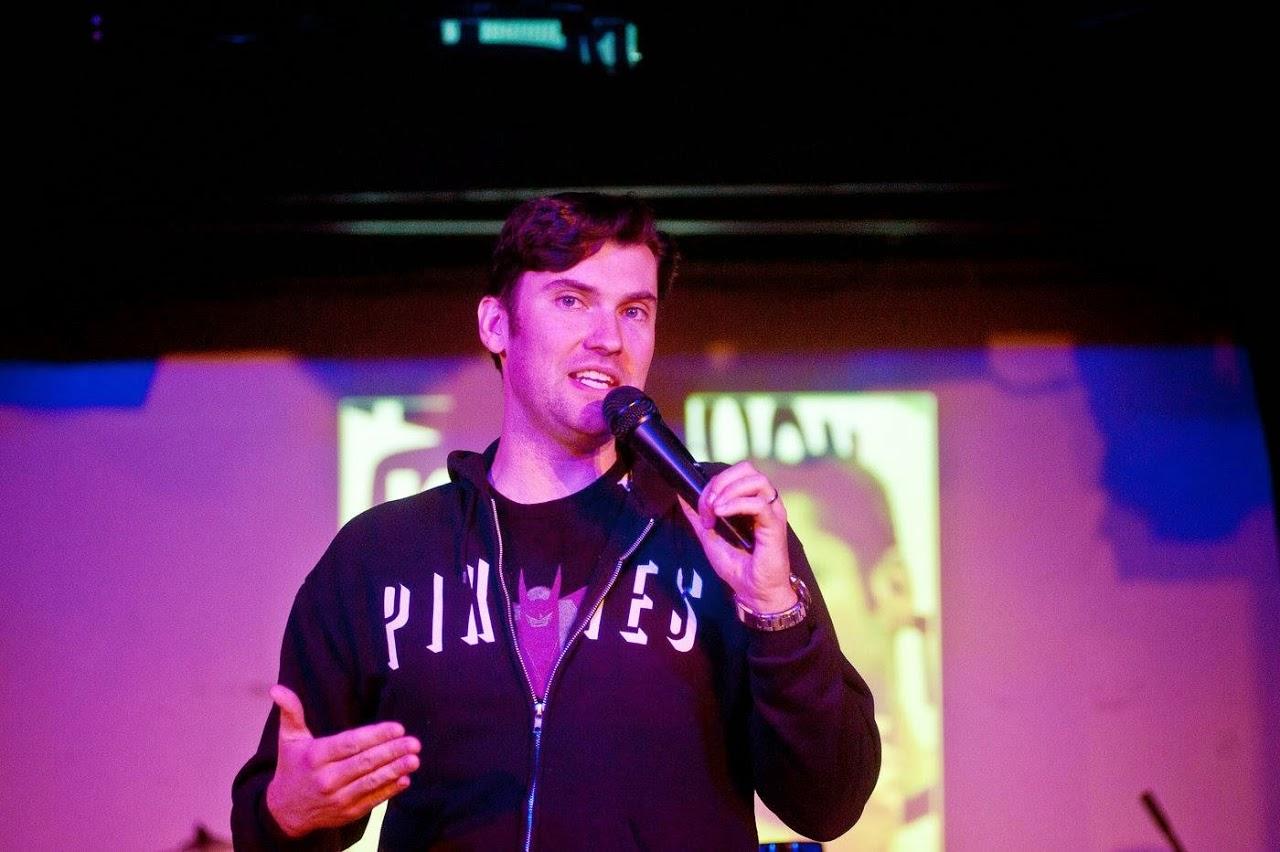 Comedian Ken Reid