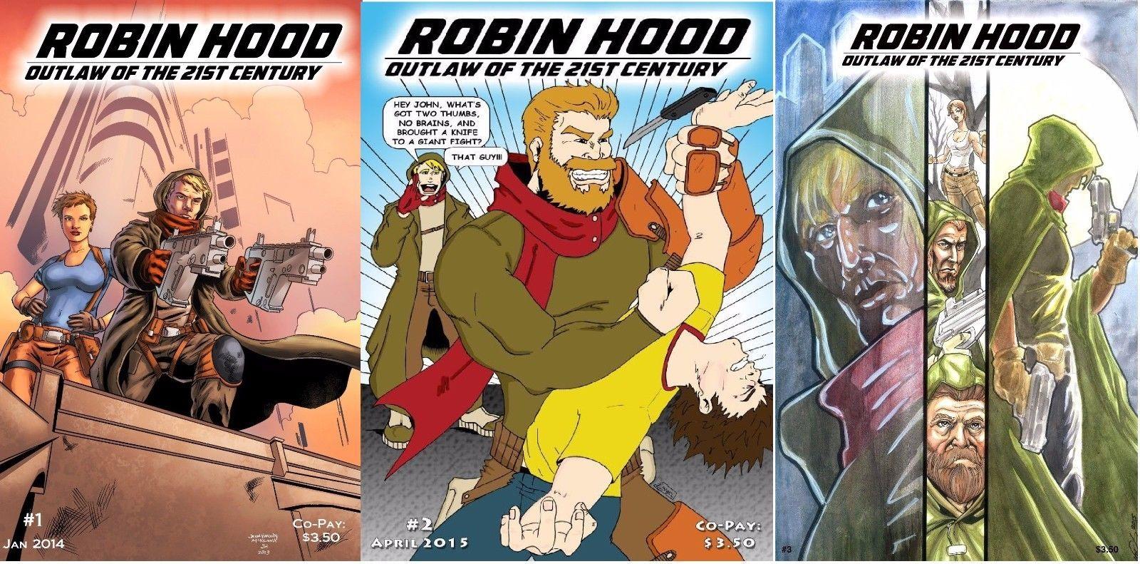 Robin Hood #1-3 for sale at Sherwood Comics!