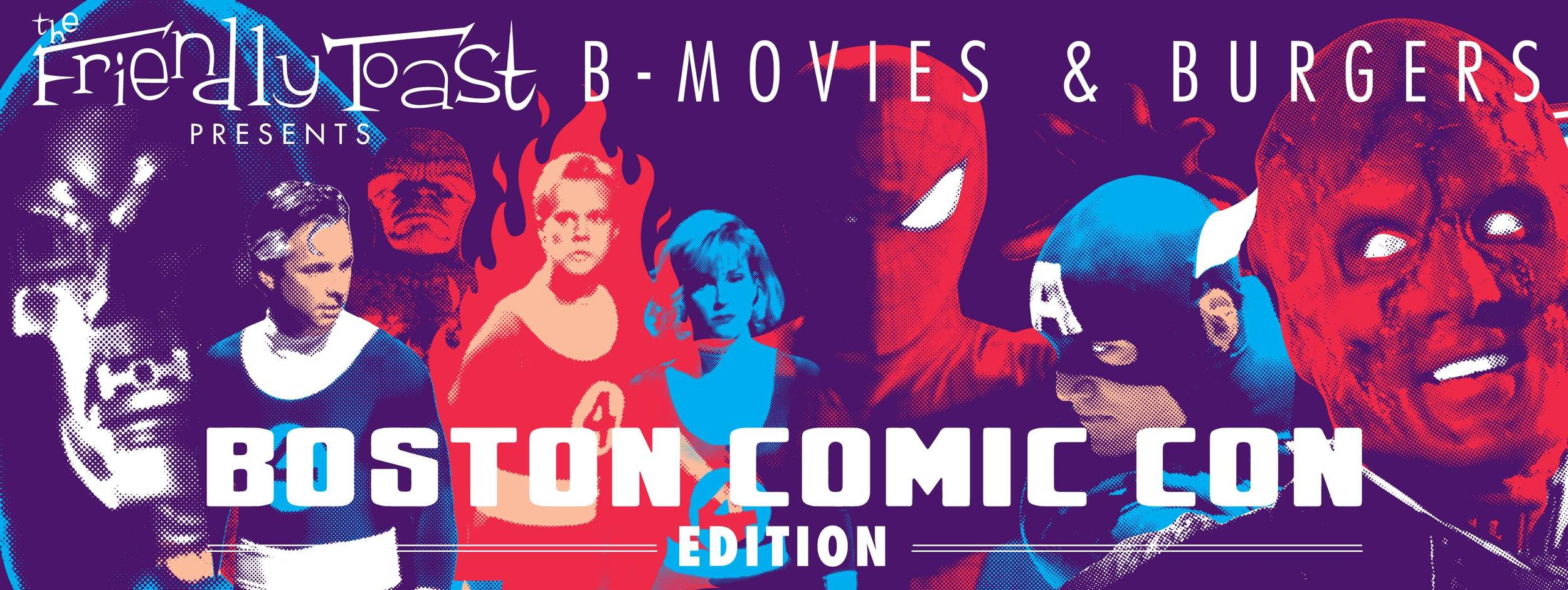 Check out Sam's B-Movies and Burgers at the Friendly Toast Event Page on Facebook  here !