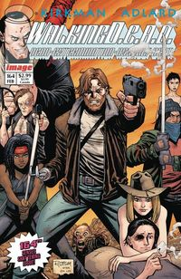 Walking Dead #164 - Image Anniversary Cover