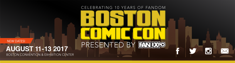 Boston Comic Con 2017
