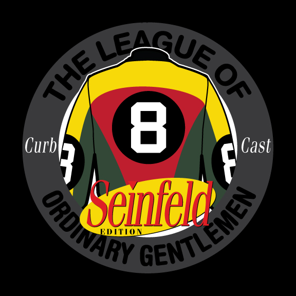 LeaguePodcast and #curbcast logo by  Monsters Are Good.