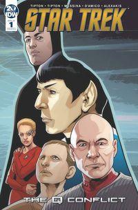 Star Trek: Q Conflict #1 -