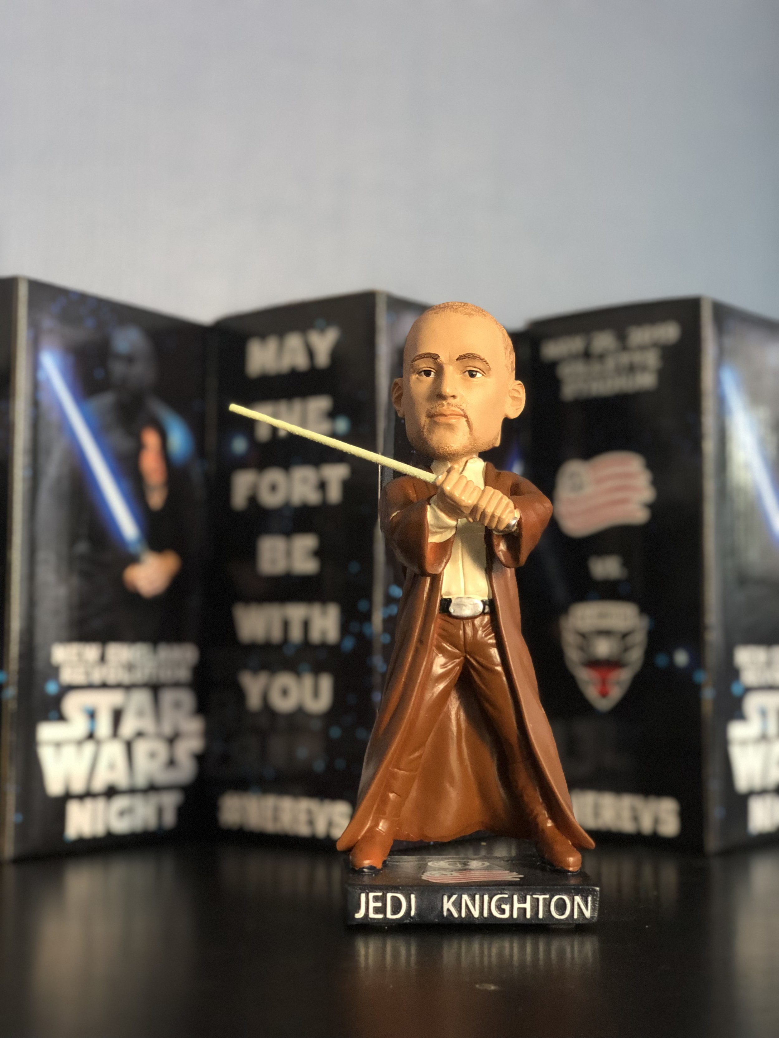 New England revolution Jedi bobblehead