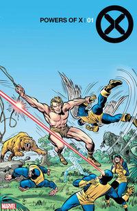Powers of X #1 - (Kirby Hidden Gem Variant)