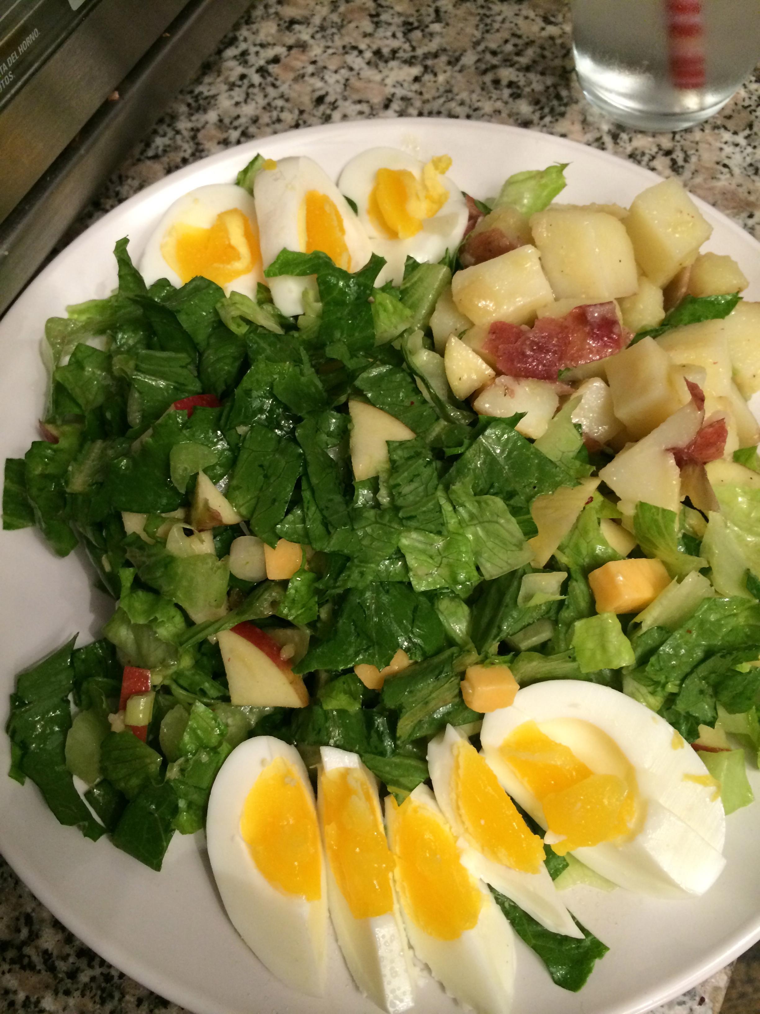 My dinner salad