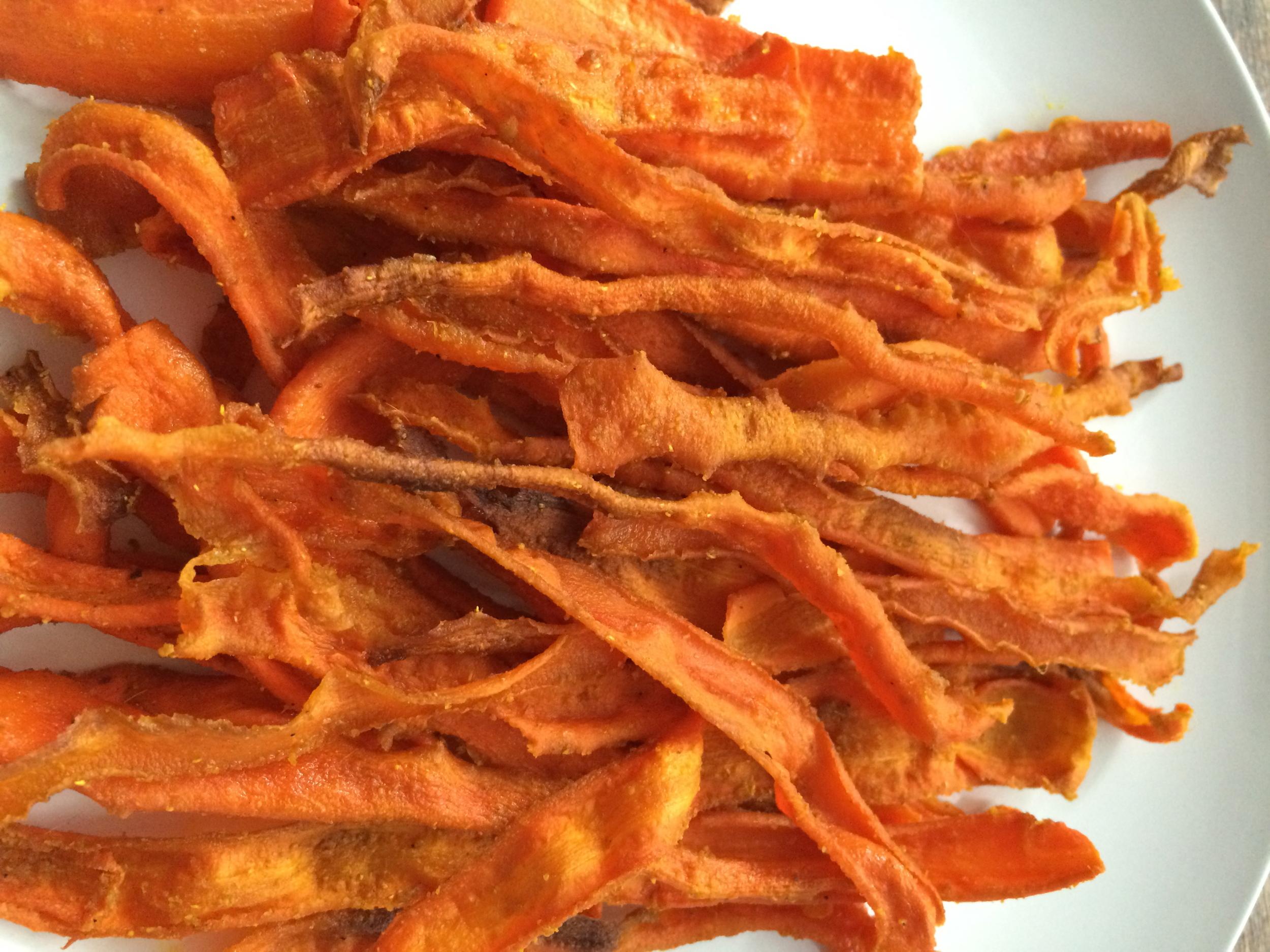 Crispy Carrots