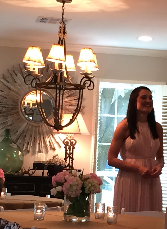 The bride, Meghan Smith