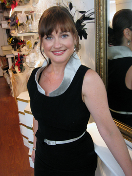 Designer Leah Chalfen