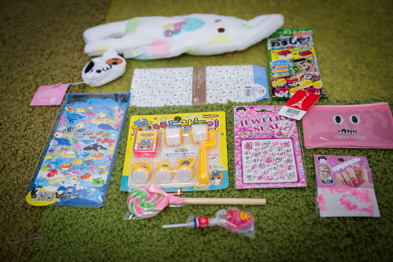 Here are all the items laid out for you